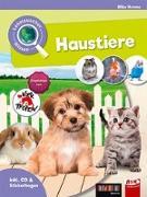 Cover-Bild zu Leselauscher Wissen: Haustiere (inkl. CD und Stickerbogen) von Krome, Silke