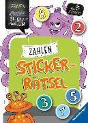 Cover-Bild zu Zahlen-Sticker-Rätsel von Jebautzke, Kirstin