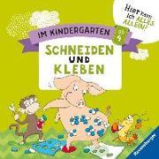 Cover-Bild zu Im Kindergarten: Schneiden und Kleben von Jebautzke, Kirstin