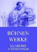 Cover-Bild zu Bühnenwerke (eBook) von Klabund