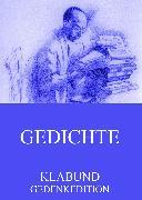 Cover-Bild zu Gedichte (eBook) von Klabund