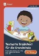 Cover-Bild zu Textsorte Erzähltext für die Grundschule von Kroll-Gabriel, Sandra