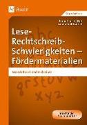 Cover-Bild zu Lese-Rechtschreib-Schwierigkeiten - Fördermaterialien von Kroll-Gabriel, Sandra