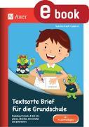 Cover-Bild zu Textsorte Brief für die Grundschule (eBook) von Kroll-Gabriel, Sandra