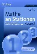 Cover-Bild zu Mathe an Stationen. Klasse 5 von Bettner, Marco