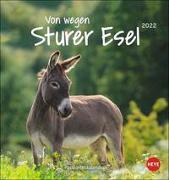 Cover-Bild zu Heye (Hrsg.): Esel Postkartenkalender 2022