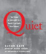 Cover-Bild zu Cain, Susan: Quiet