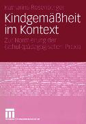 Cover-Bild zu Kindgemäßheit im Kontext (eBook) von Rosenberger, Katharina