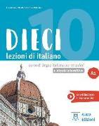 Cover-Bild zu Dieci A1 - einsprachige Ausgabe. Kurs- und Arbeitsbuch mit Code von Naddeo, Ciro Massimo