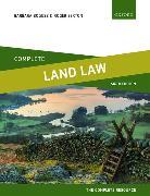 Cover-Bild zu Complete Land Law von Bogusz, Barbara