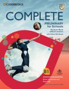 Cover-Bild zu Complete Preliminary for Schools Student's Book without Answers with Online Workbook von Heyderman, Emma
