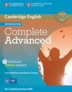Cover-Bild zu Complete Advanced. Workbook without Answers von Matthews, Laura