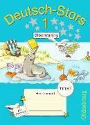 Cover-Bild zu Deutsch-Stars - Silbentraining 1. Schuljahr. TING-Ausgabe. Übungsheft mit Lösungen von Kuester, Ursula
