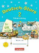 Cover-Bild zu Deutsch-Stars - Allgemeine Ausgabe. 2. Schuljahr - Silbentraining von Kuester, Ursula