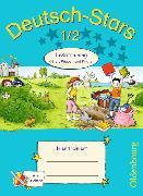 Cover-Bild zu Deutsch-Stars - Lesetraining Ritter, Räuber und Piraten 1./2. Schuljahr. Übungsheft mit Lösungen von Kuester, Ursula