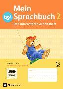 Cover-Bild zu Mein Sprachbuch 2. Schuljahr. Das bärenstarke Arbeitsheft. Arbeitsheft in VA mit Übungen und CD-ROM. BY von Klug, Andrea
