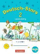 Cover-Bild zu Deutsch-Stars - Lesetraining 2. Schuljahr. TING-Ausgabe. Übungsheft mit Lösungen von Kuester, Ursula