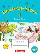 Cover-Bild zu Deutsch-Stars - Lesetraining 1. Schuljahr. TING-Ausgabe. Übungsheft mit Lösungen von Kuester, Ursula