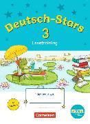 Cover-Bild zu Deutsch-Stars - Lesetraining 3. Schuljahr. TING-Ausgabe. Übungsheft mit Lösungen von Kuester, Ursula