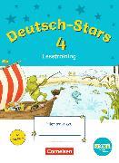 Cover-Bild zu Deutsch-Stars - Lesetraining 4. Schuljahr. TING-Ausgabe. Übungsheft mit Lösungen von Kuester, Ursula