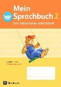 Cover-Bild zu Mein Sprachbuch 2. Schuljahr. Das bärenstarke Arbeitsheft. Arbeitsheft in SAS. BY von Klug, Andrea