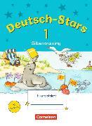 Cover-Bild zu Deutsch-Stars - Silbentraining 1. Schuljahr. Übungsheft mit Lösungen von Kuester, Ursula