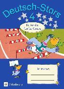 Cover-Bild zu Deutsch-Stars 4. Schuljahr. Allgemeine Ausgabe. Fit für die 5. Klasse. Übungsheft. Mit Lösungen von Brinster, Olga