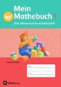 Cover-Bild zu Mein Mathebuch 1. Schuljahr. Ausgabe B. Neubearbeitung. Das bärenstarke Arbeitsheft. BY von Kuester, Ursula