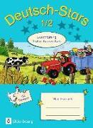 Cover-Bild zu Deutsch-Stars - Lesetraining Traktor, Kuh und Korn 1./2. Schuljahr. Übungsheft mit Lösungen von Kuester, Ursula