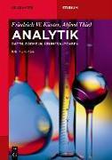 Cover-Bild zu Analytik (eBook) von Ruland, Ursula (Hrsg.)