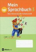 Cover-Bild zu Mein Sprachbuch 3. Schuljahr. Das bärenstarke Arbeitsheft. Arbeitsheft in VA. BY von Hahn, Gabi