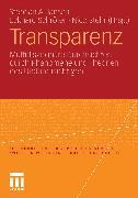Cover-Bild zu Jansen, Stephan A.: Transparenz (eBook)