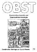 Cover-Bild zu Grammatikunterricht und Grammatikterminologie (eBook) von Noack, Christina