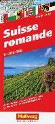 Cover-Bild zu Suisse Romande Strassenkarte 1:200 000. 1:200'000 von Hallwag Kümmerly+Frey AG (Hrsg.)