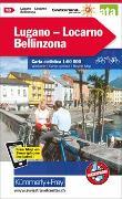 Cover-Bild zu Lugano - Locarno - Bellinzona Nr. 18 Velokarte 1:60 000. 1:60'000 von Hallwag Kümmerly+Frey AG (Hrsg.)