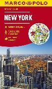 Cover-Bild zu MARCO POLO Cityplan New York 1:12 000. 1:15'000