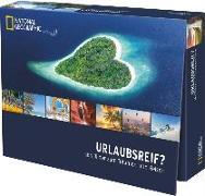 Cover-Bild zu Tischaufsteller Urlaubsreif - 365 Bilder zum Träumen und Reisen