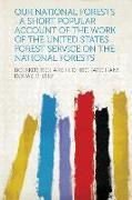 Cover-Bild zu Our National Forests von Boerker, Richard H. D. (Richard Ha