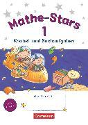 Cover-Bild zu Mathe-Stars, Knobel- und Sachaufgaben, 1. Schuljahr, Übungsheft, Mit Lösungen von Hatt, Werner
