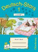 Cover-Bild zu Deutsch-Stars, Allgemeine Ausgabe, 1. Schuljahr, Lesetraining, Übungsheft, Mit Lösungen