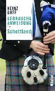 Cover-Bild zu Gebrauchsanweisung für Schottland