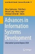 Cover-Bild zu Advances in Information Systems Development von Siarheyeva, Alena (Hrsg.)