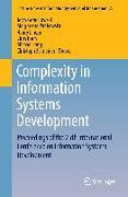 Cover-Bild zu Complexity in Information Systems Development von Goluchowski, Jerzy (Hrsg.)