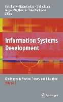 Cover-Bild zu Information Systems Development, Volume 2: Challenges in Practice, Theory, and Education von Barry, Chris (Hrsg.)