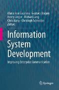 Cover-Bild zu Information System Development von José Escalona, María (Hrsg.)