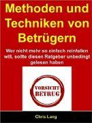 Cover-Bild zu Methoden und Techniken von Betrügern (eBook) von Lang, Chris