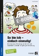 Cover-Bild zu So bin ich - einfach einmalig! (eBook) von Rosendahl, Julia