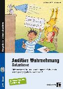 Cover-Bild zu Auditive Wahrnehmung - Satzebene von Rosendahl, Julia