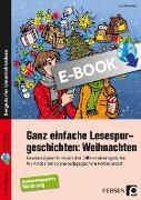 Cover-Bild zu Ganz einfache Lesespurgeschichten: Weihnachten (eBook) von Rosendahl, Julia