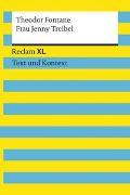 Cover-Bild zu Frau Jenny Treibel. Textausgabe mit Kommentar und Materialien von Fontane, Theodor